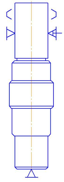Рисунок 1-Схема базирования