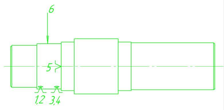 Рис. 1 - Схема базирования