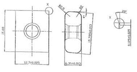 Твердосплавная пластина 21-004691-100-1 (MNX 150724) российского производства