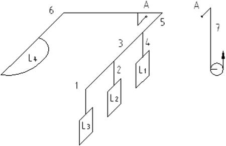 Однолинейная схема вентиляции