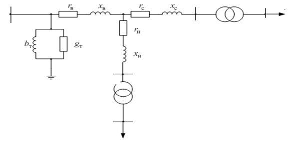 Схема замещения трансформатора
