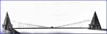 Проект моста ч-з Неву И