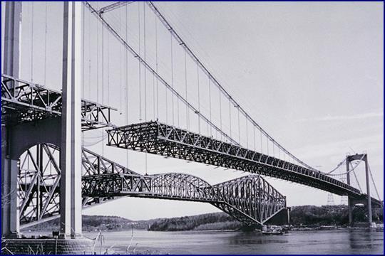 Строительство Квебекского моста