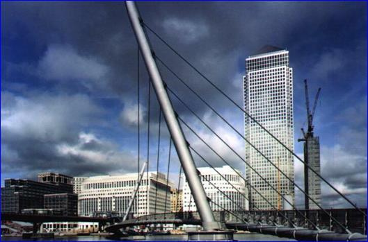 Вантовый мост в Англии