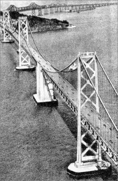 Оклендский мост (353+704+353+353+704+353) (1930-е)