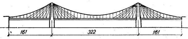 Мост с доп-вантами (ч-з р-Огайо США)