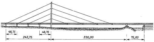 Мост Кни-брюкке ч-з Рейн в Дюссельдорфе (1969)_2