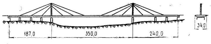 Мост ч-з Рейн в Дуйсбурге (схема)
