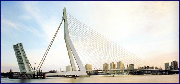 Мост Э_Роттердамского (800 м) (Роттердам, Голандия)