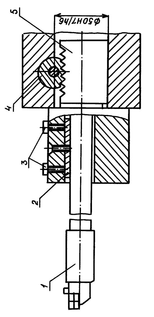 Схема установки расточного