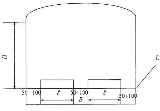 Определение размеров печи