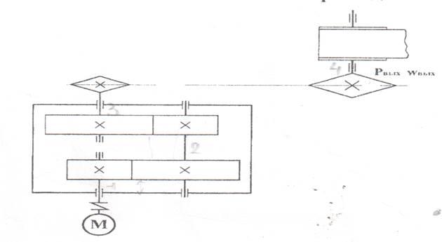 Рисунок 1 – Кинематическая