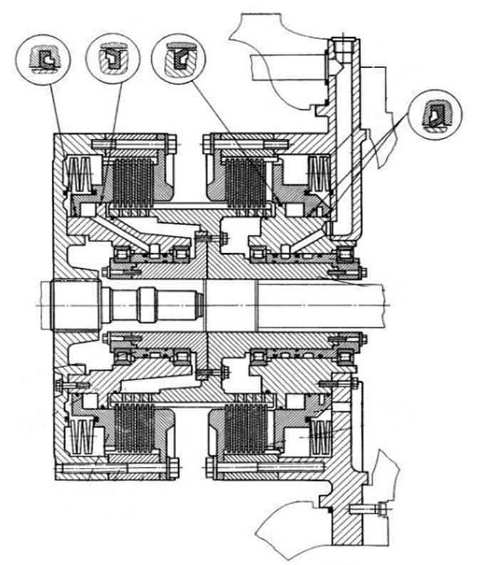 Основные элементы механизма