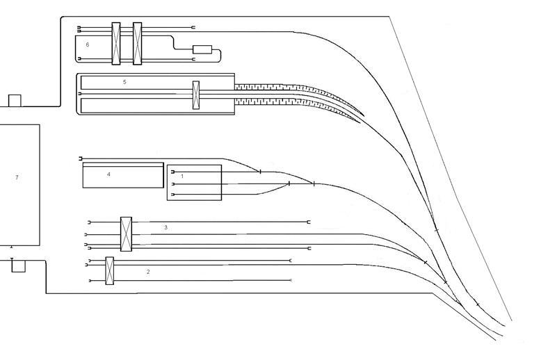 Рисунок 2.2 – Схема грузового