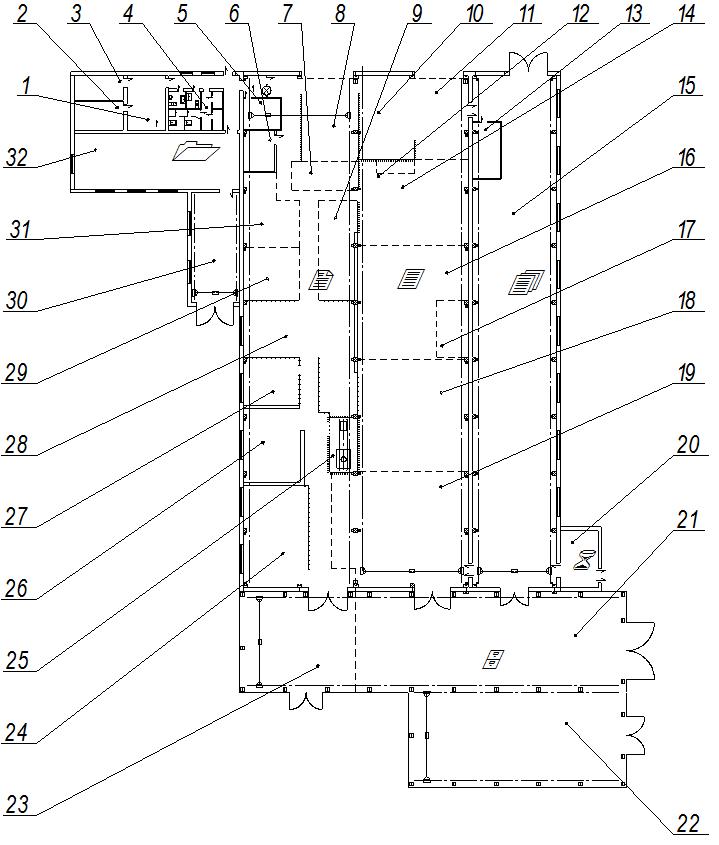 Рис. 1.4 – Схема