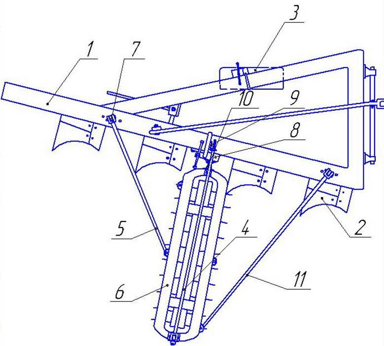 Модернизация плуга ПЛН-4-35.