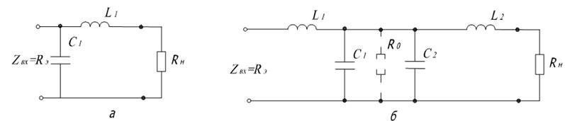 а) –Г – образная цепочка;