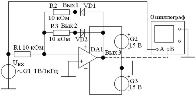 амплитудного детектора