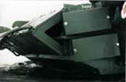 установка контейнеров ДЗ «Нож» на башне танка Т-84