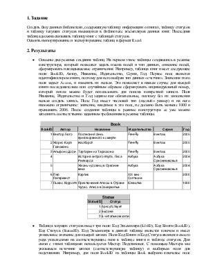 Отчет по лабораторной работе по информатике курс instantcms   Й курс контрольная по информатике скачать беспла Лабораторные работы по Информатике 1 курс Информатика и информационные технологии в системе повышения