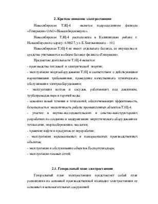 Краткое описание Новосибирской ТЭЦ Основные мероприятия по  Краткое описание Новосибирской ТЭЦ 4 Основные мероприятия по модернизации оборудования