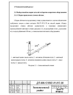 Дипломная работа по сварочным материалам 5841