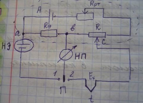 12000. Принципиальная схема лабораторного потенциометры.JPG