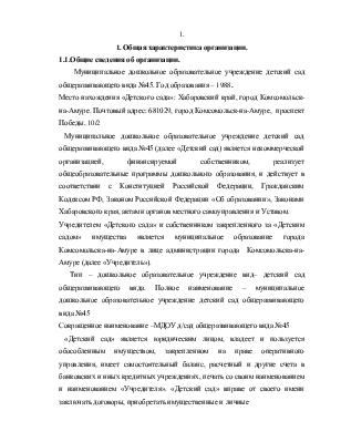 Отчет по практике бухгалтера в образовательном учреждении 2731
