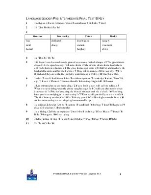 Language Leader Upper Intermediate Study Book