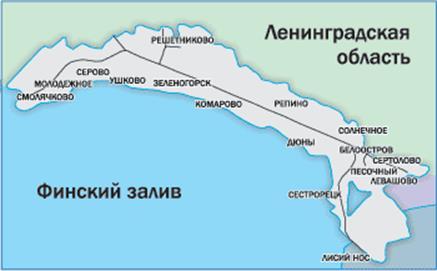 Отчёт по экскурсии Водопроводные очистные сооружения г  Район обслуживания Сестрорецкого Водокнала