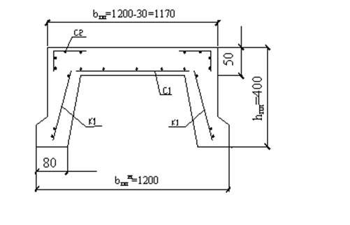 Расчет ребристая плита ультразвуковой метод для железобетонная