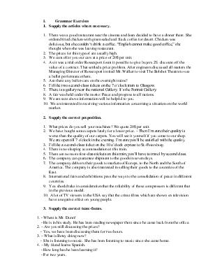 Контрольная работа № по дисциплине Английский язык с  Контрольная работа № 2 по дисциплине Английский язык с переводом текста Хорошая жизненная мания