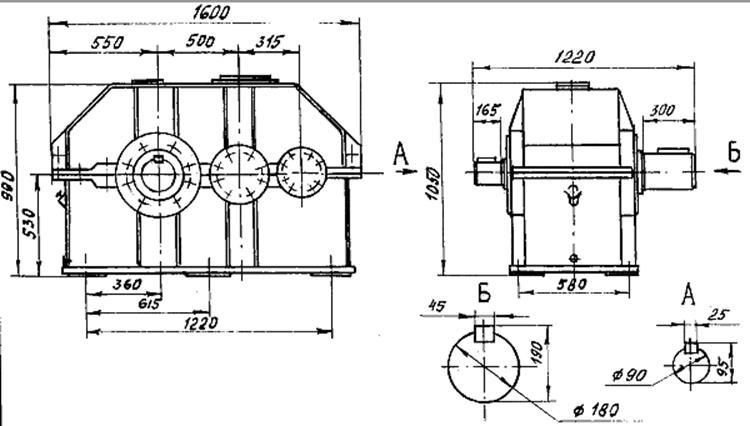 Редуктор на конвейер ленточный кузов транспортер т4